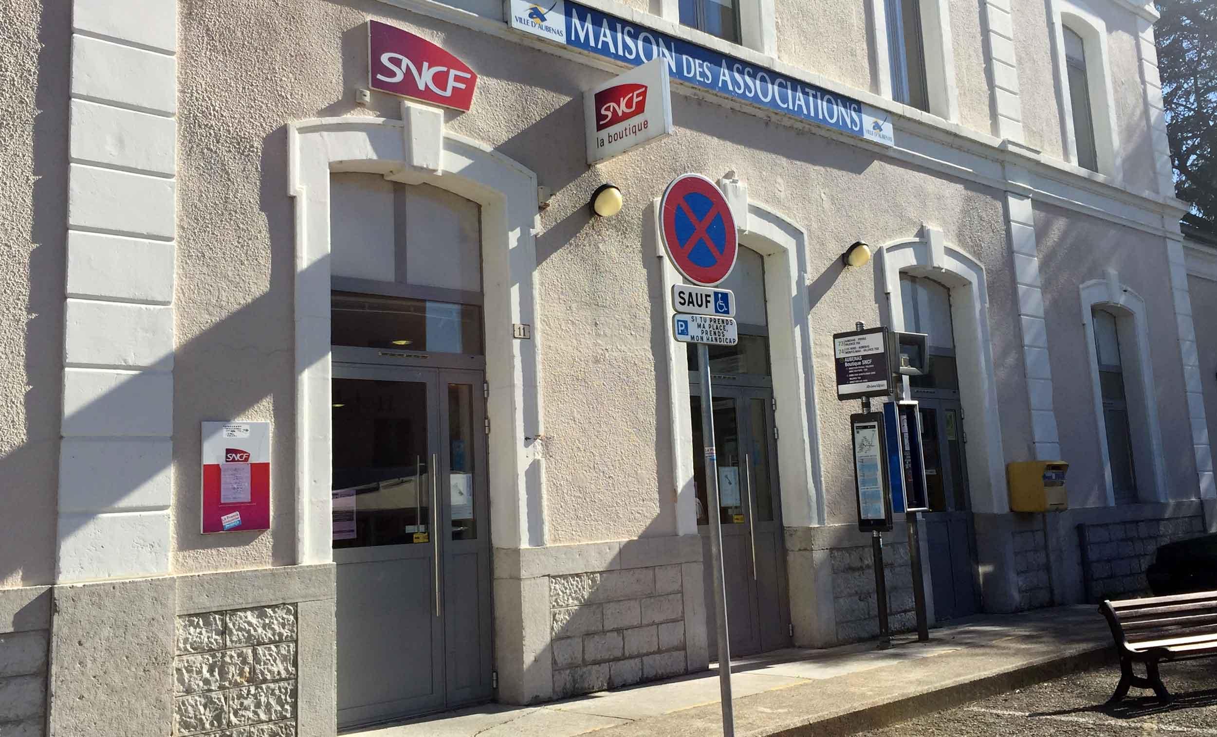 Suppression du guichet SNCF d'Aubenas : les acteurs ardéchois s'organisent pour trouver une solution concrète