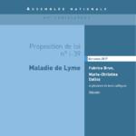 Proposition de loi relative à la maladie de Lyme,