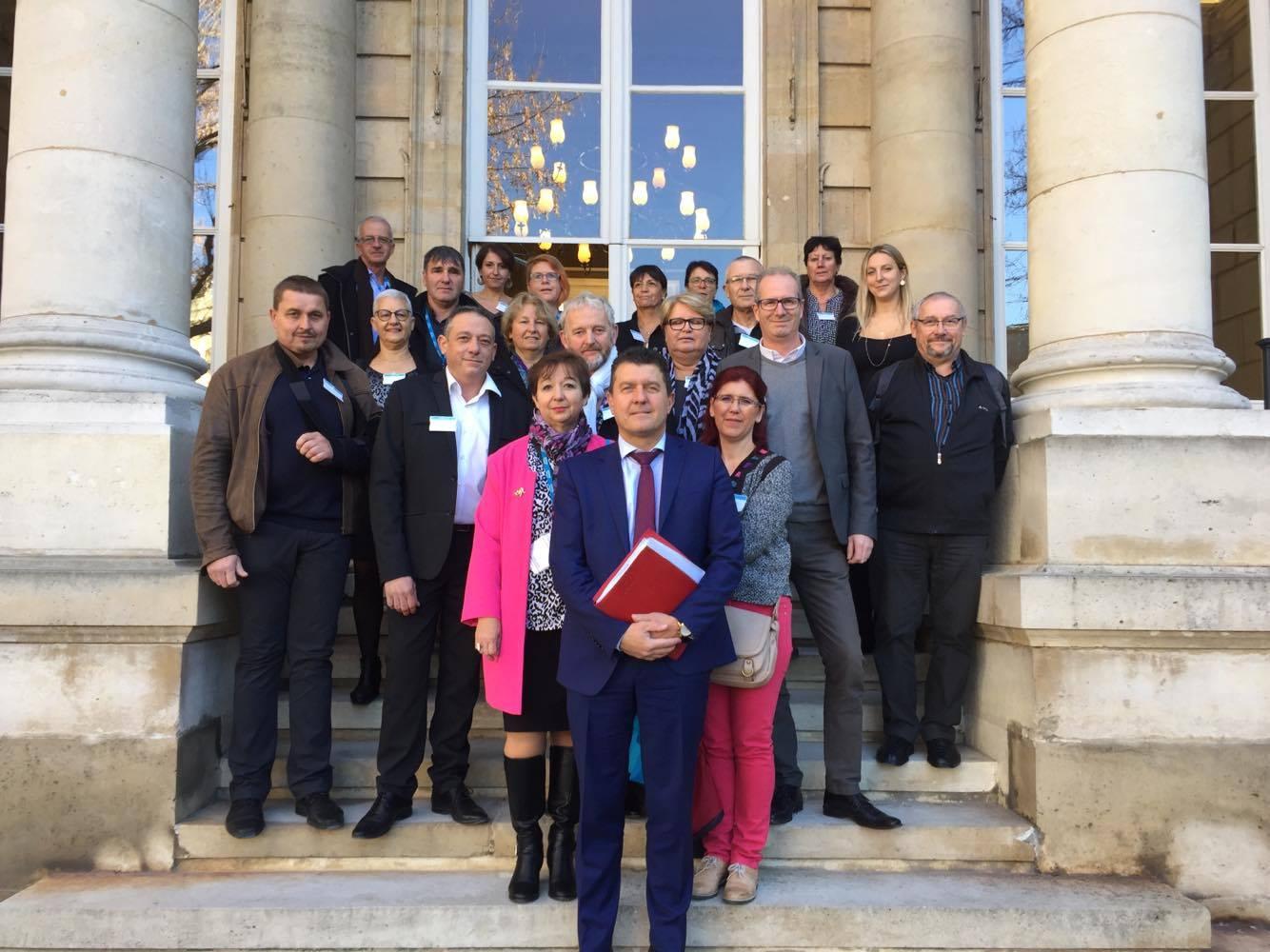 Congrès des Maires : les élus ardéchois reçus à l'Assemblée nationale