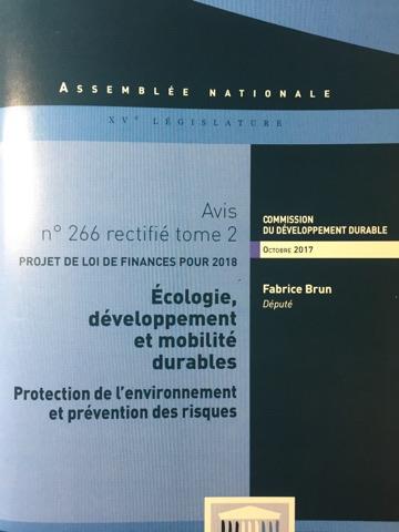 Publication du rapport de Fabrice Brun sur la prévention des risques