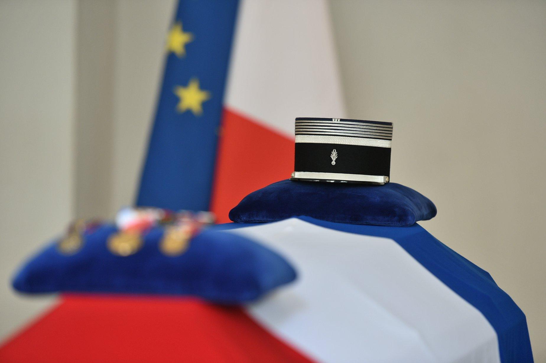 Fabrice Brun, député de l'Ardèche, présent à la cérémonie nationale en hommage au lieutenant-colonel Arnaud BELTRAME
