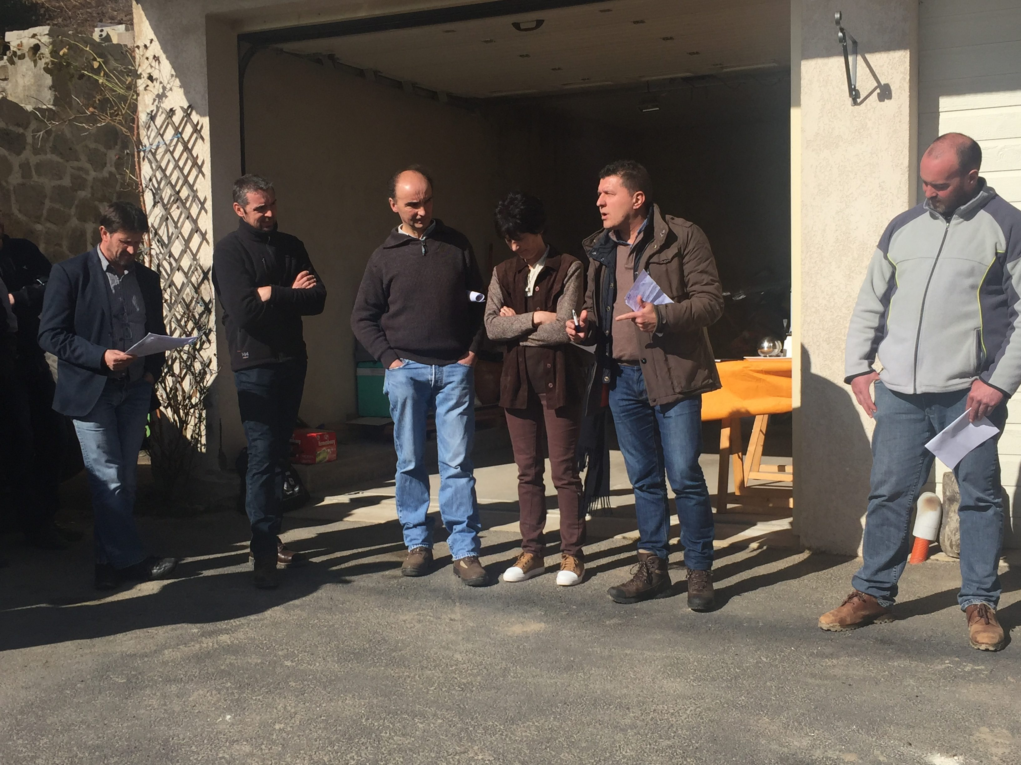 Extension de la zone de Montagne Sèche : Fabrice Brun à la rencontre des agriculteurs