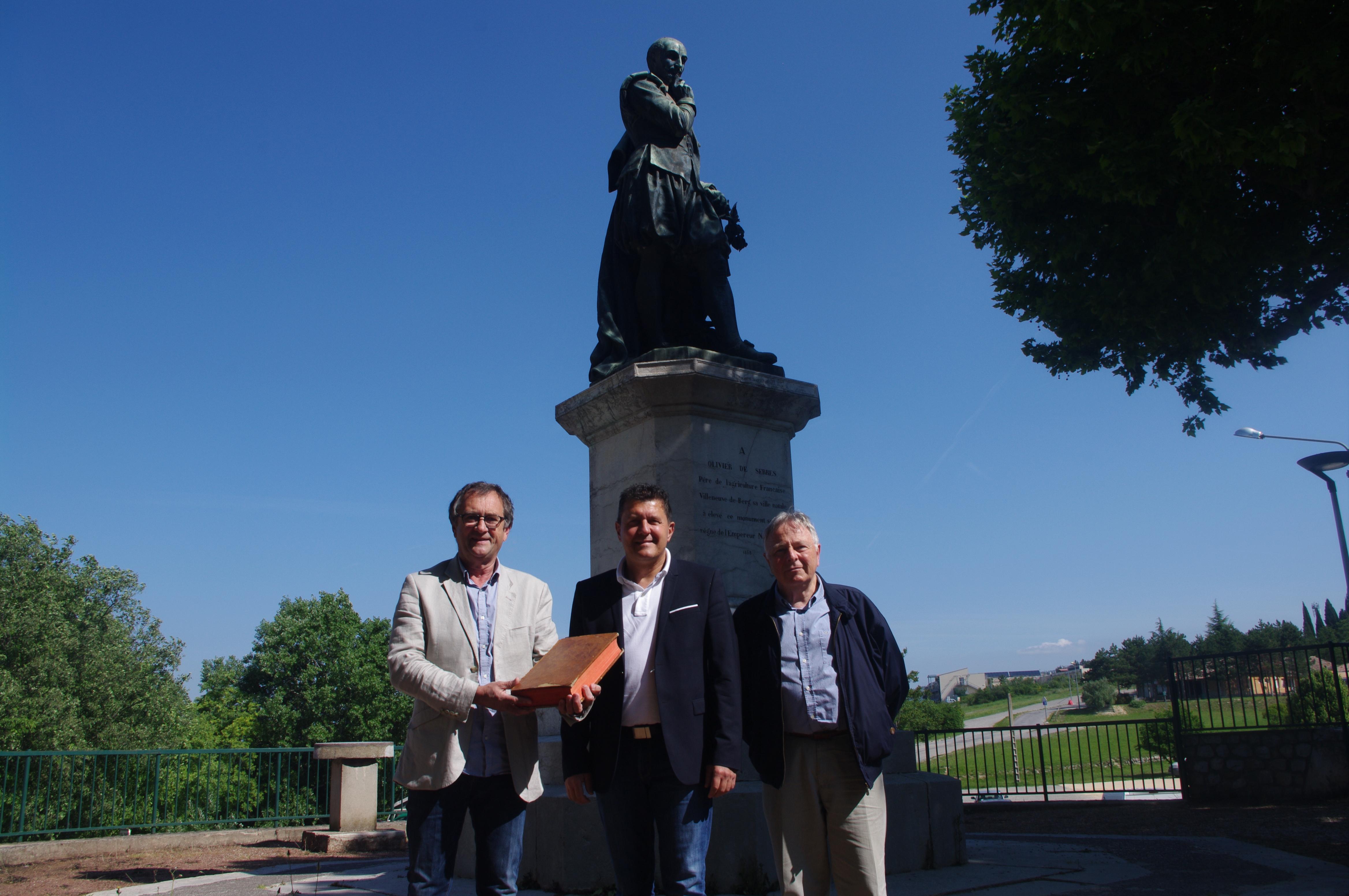 En 2019, mobilisons nous tous pour faire du 400ème anniversaire de la mort d'Olivier de Serres un grand événement départemental et national.