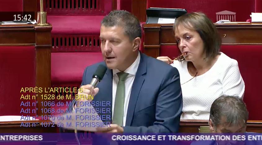 [VIDEO] Débat sur le projet de loi PACTE : hommage aux commerciaux de France, fers de lance de notre économie