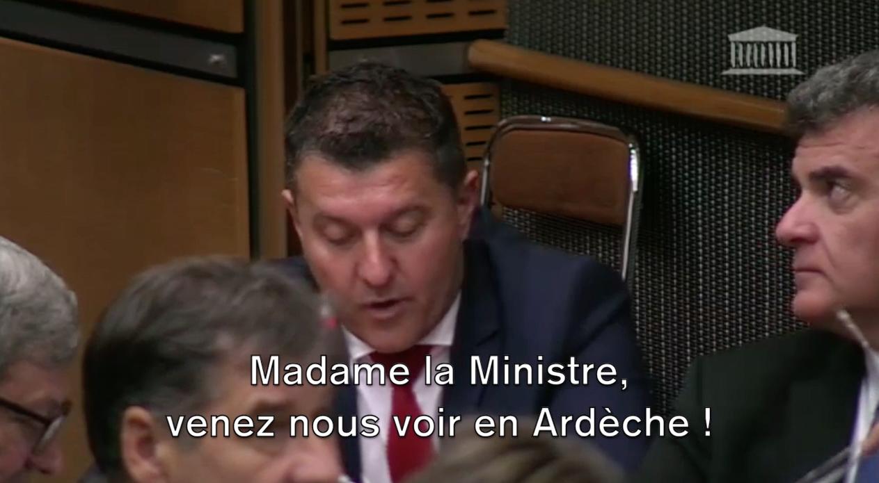 «Madame la Ministre, nous n'avons pas de train, mais nous avons des idées !»