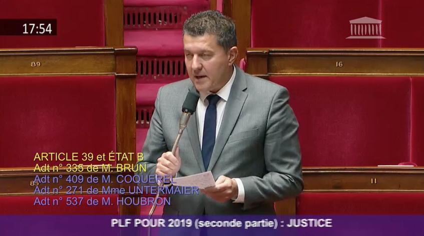 Projet de Loi de Finances 2019 : «Renforcer les moyens dans nos juridictions locales pour une justice plus rapide et plus proche des citoyens»