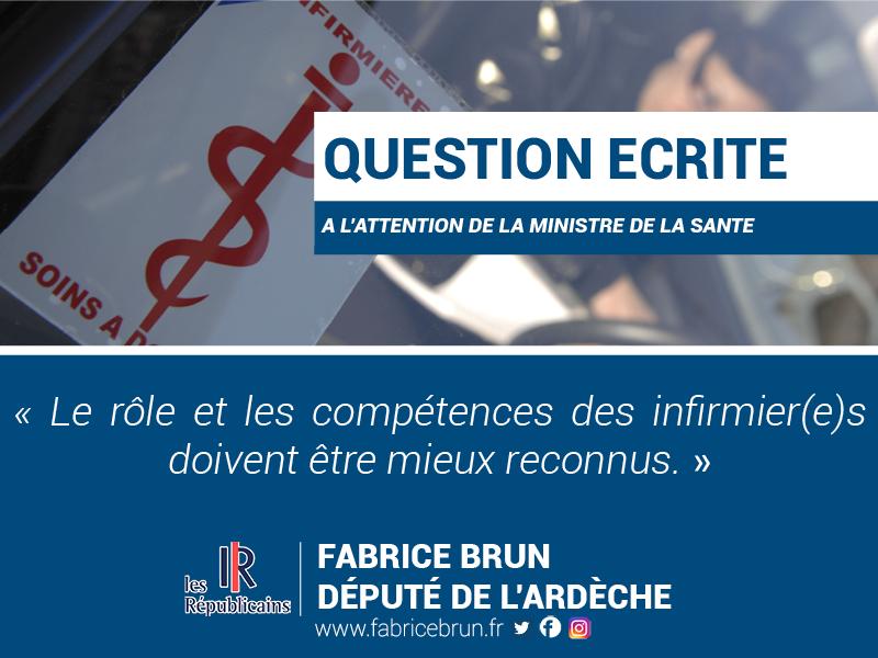 «Le rôle et les compétences des infirmier(e)s doivent être mieux reconnus.»