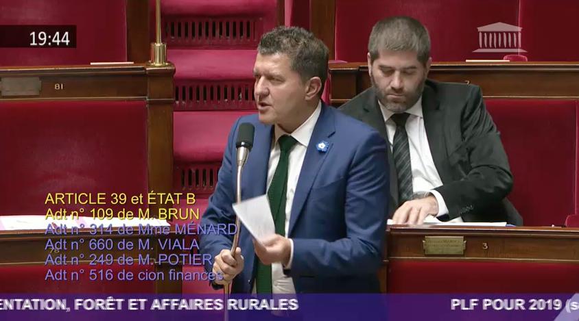 Didier Guillaume, nouveau ministre de l'agriculture, attentif à l'avenir de la châtaigneraie.