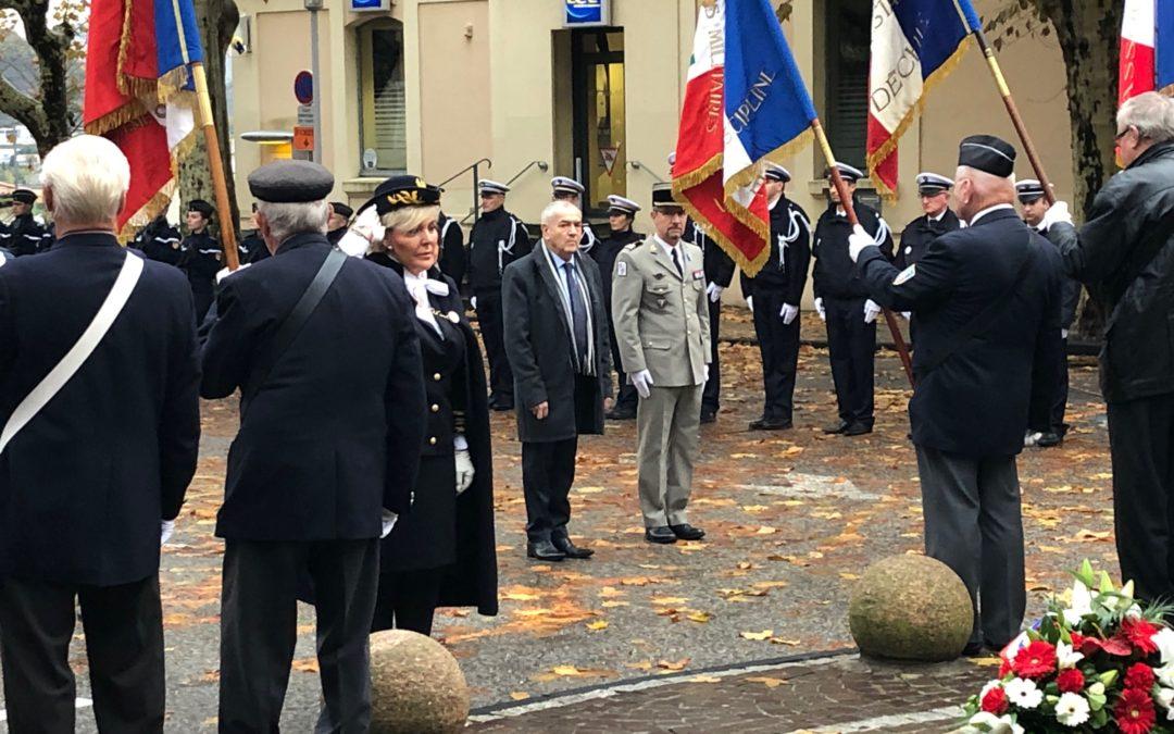 Prise de fonction du nouveau Préfet de l'Ardèche, Mme Françoise Souliman.