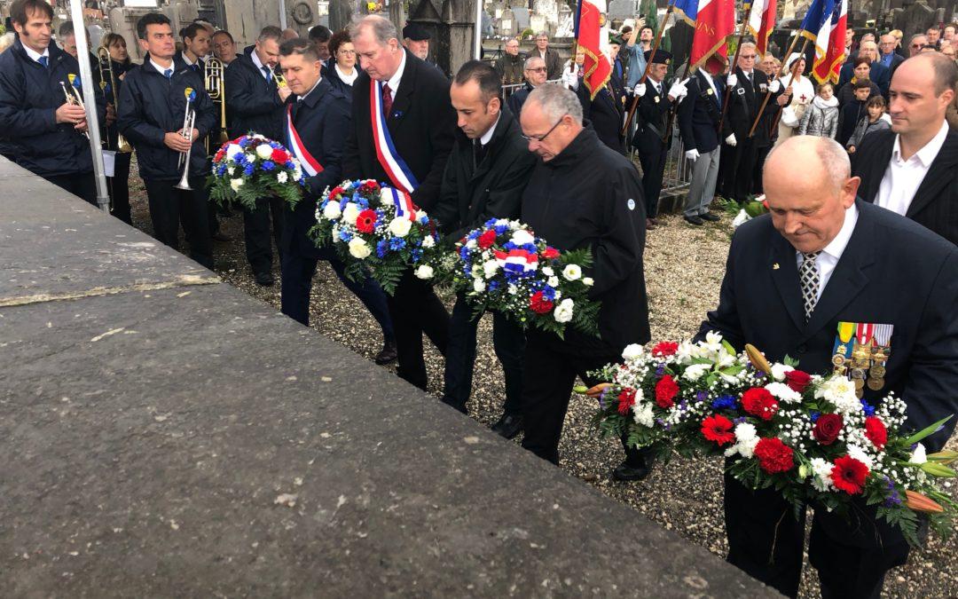 Commémorations du centenaire de l'Armistice de la Première Guerre Mondiale