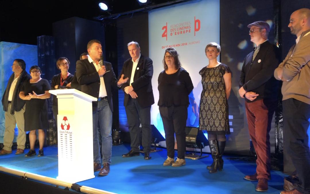 Cérémonie d'ouverture des 20èmes Recontres des Cinémas d'Europe