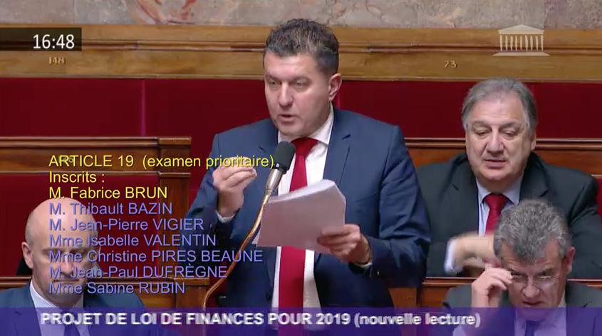 PLF 2019 : Grâce aux débats animés au Parlement, la majorité a enfin fait preuve de raisonen acceptant le gel de la hausse de la fiscalité sur les carburants sur 5 ans.