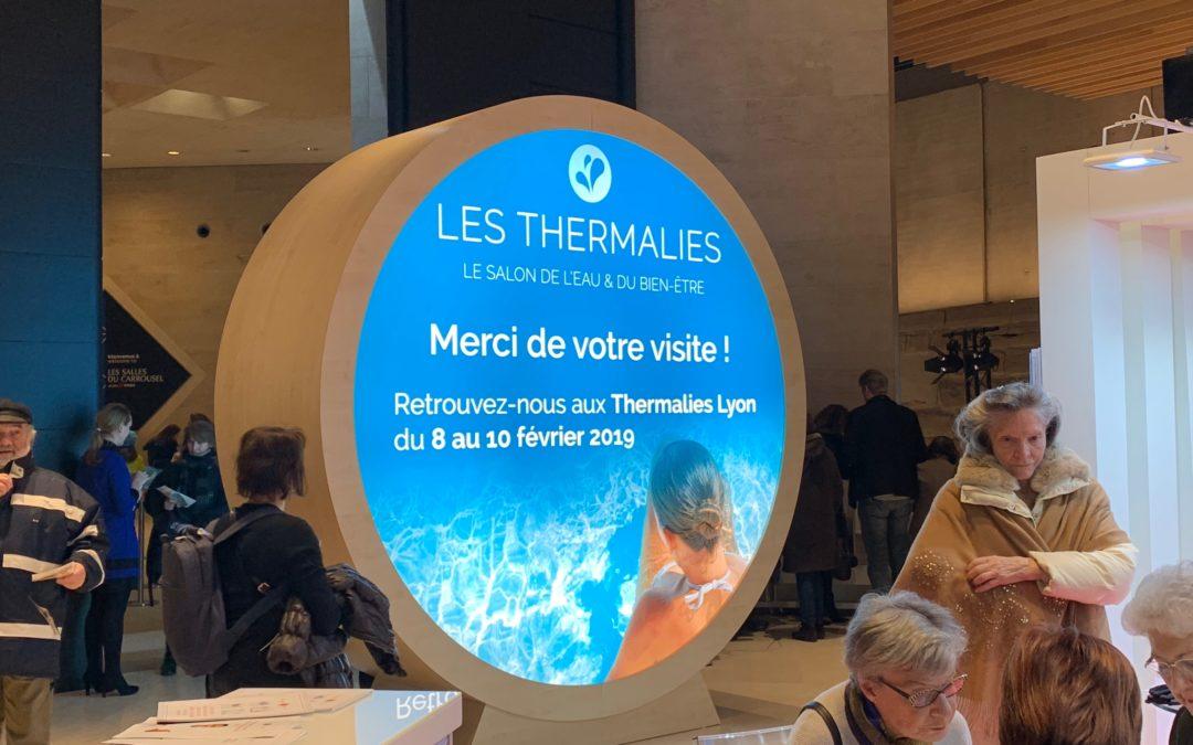 Salon des Thermalies 2019 – «Faire valoir les atouts de nos stations thermales ardéchoises»