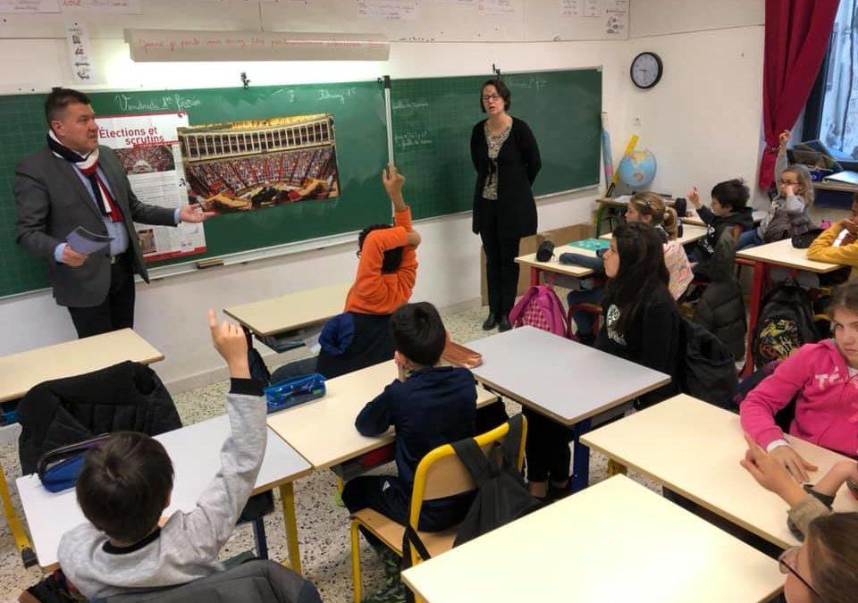 Parlement des Enfants – Moment d'échanges avec les élèves de l'école des Assions