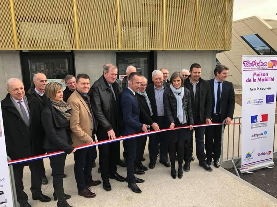 Inauguration de la Maison de la Mobilité à Aubenas