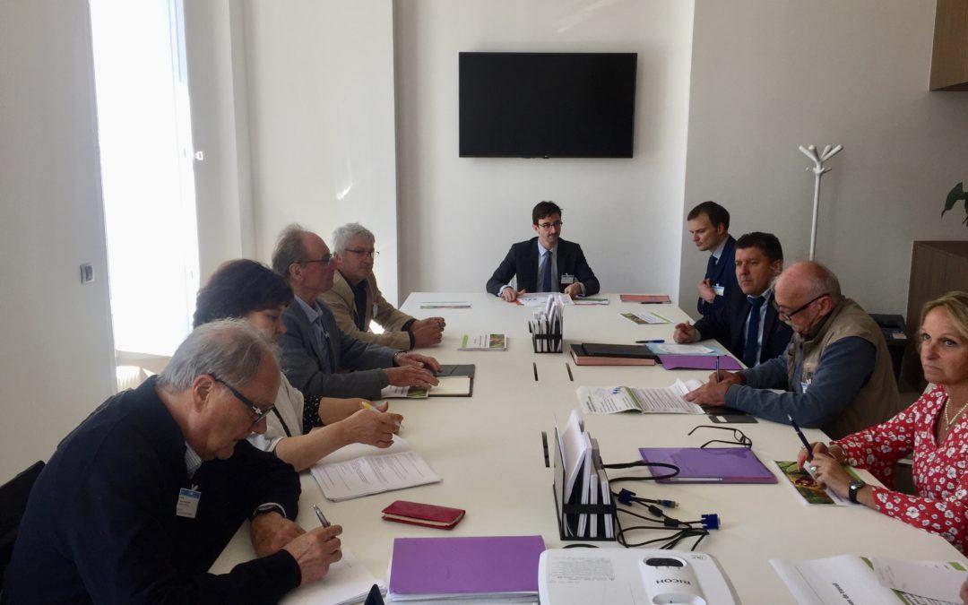 L'Amicale Parlementaire de la Châtaigneraie reçoit le soutien de Didier Guillaume, Ministre de l'Agriculture.
