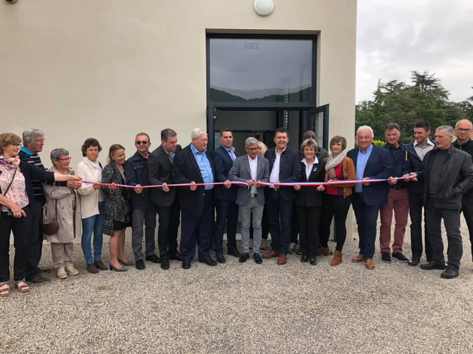 Inauguration de l'espace culturel à Prades : travailler ensemble pour développer les services à la population.
