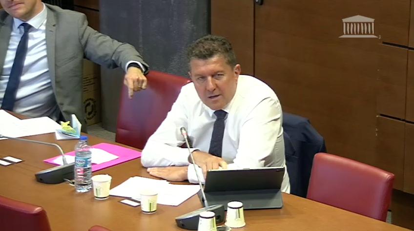Mon intervention en Commission des Finances sur le soutien aux associations.