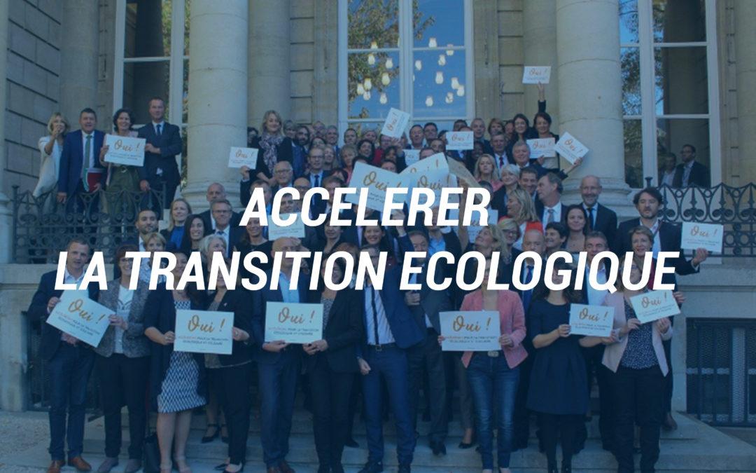 Accélérer la transition écologique.
