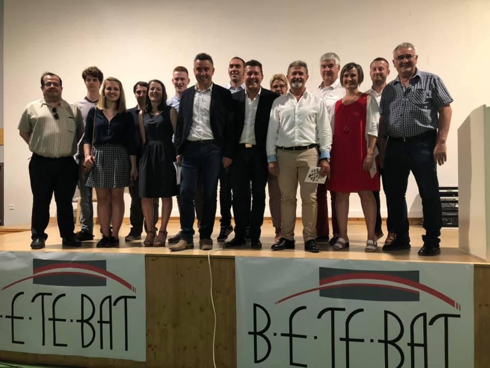 35 ans de l'entreprise BETEBAT : hommage aux entreprises ardéchoises du BTP