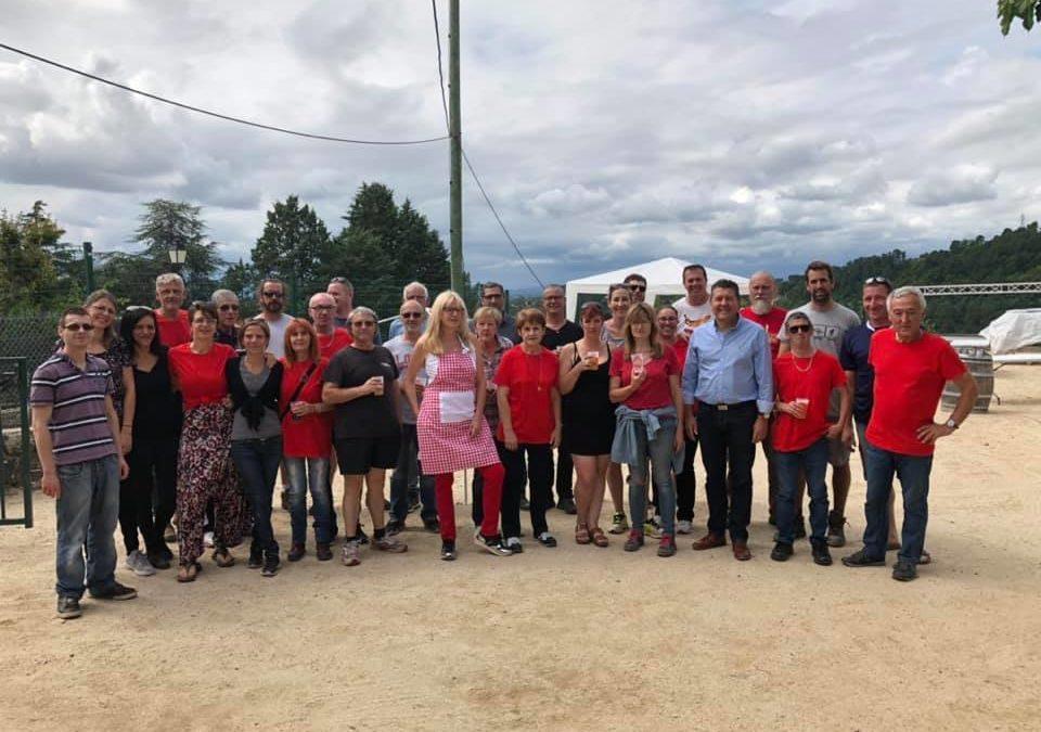 A Chassiers pour saluer les bénévoles du festival Caillette et Rosette