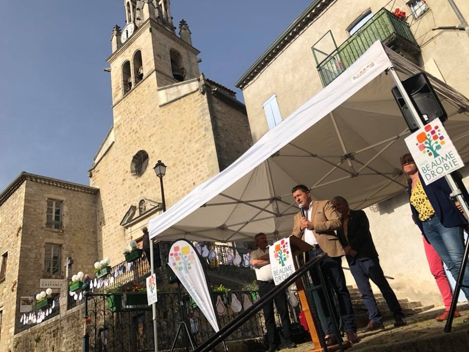 Inauguration de l'espace Castanea à Joyeuse