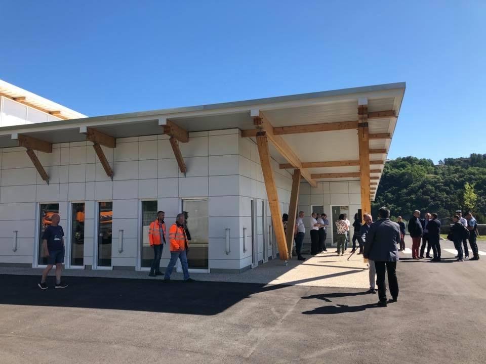 Inauguration du Centre d'Entretien et d'Intervention de Labégude sur la RN 102.