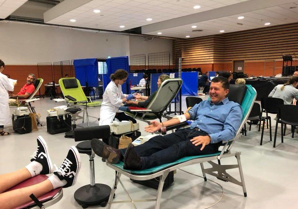 Journée mondiale des donneurs de sang : A donné !
