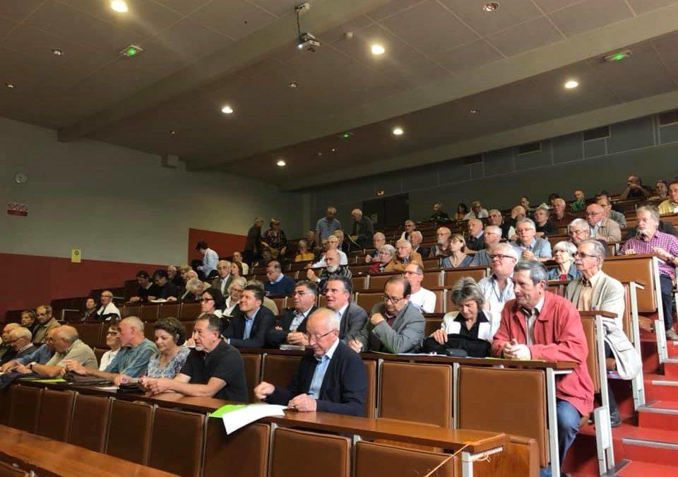 Assemblée générale de Fransylva à Aubenas