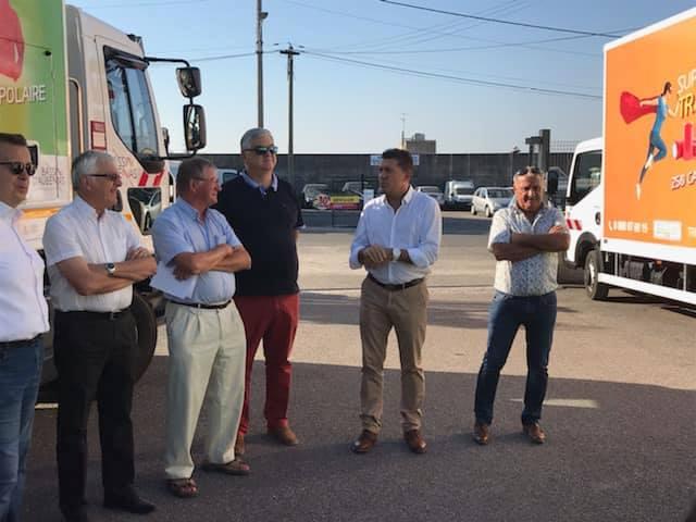 A Aubenas et Vesseaux pour deux projets portés par la Communauté de Communes du Bassin d'Aubenas.