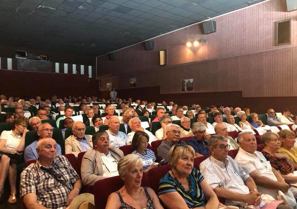 Les maires ruraux de l'Ardèche réunis à Ruoms pour le congrès départemental