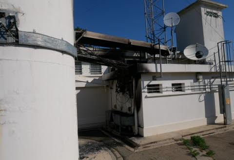 Incendie criminel de l'antenne relais de Bourg-Saint-Andeol : j'interpelle le Ministre de l'Intérieur et le Secrétaire d'Etat chargé du Numérique.