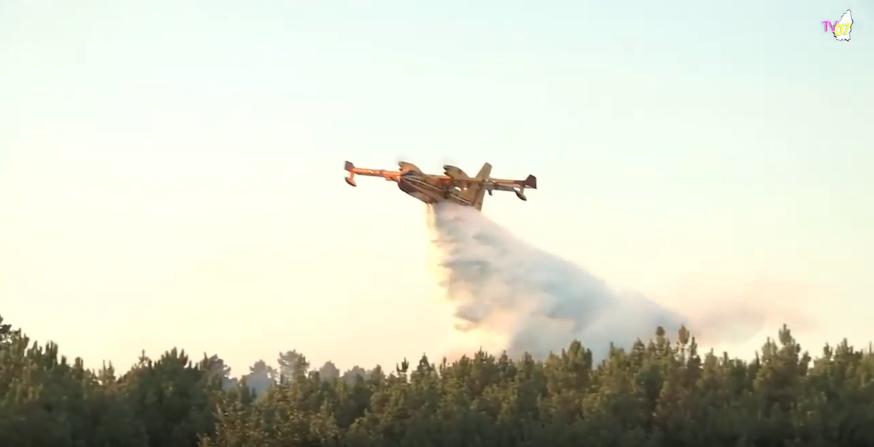 Interview pour TV 07 : Réaction sur les incendies de cet été en Ardèche