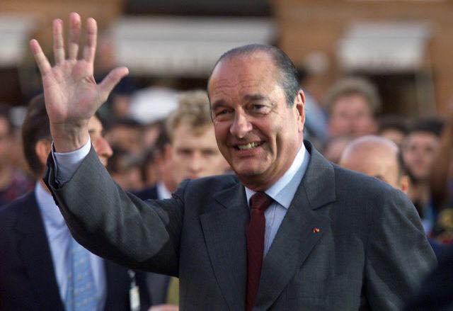 Décès de Jacques Chirac.