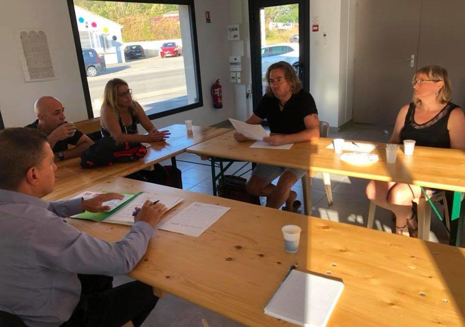 Réunions avec les représentants du syndicat «Solidaires Finances Publiques» et la CCI 07