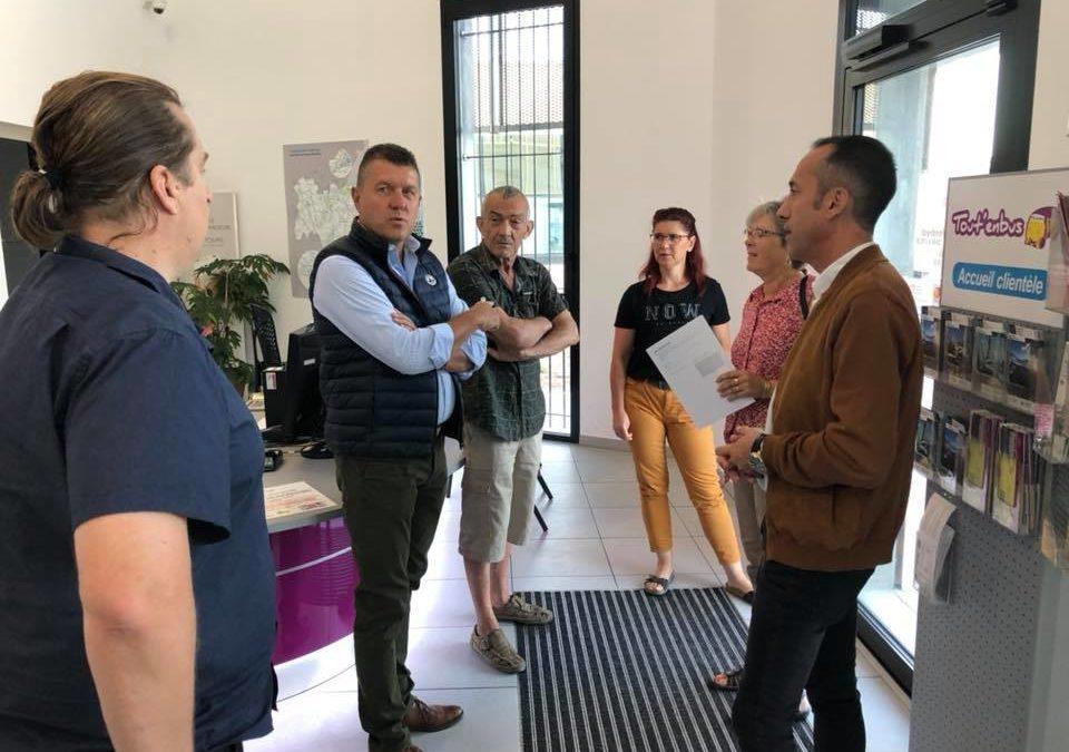 Lancement des nouveaux horaires d'ouverture de la Maison de la Mobilité à Aubenas