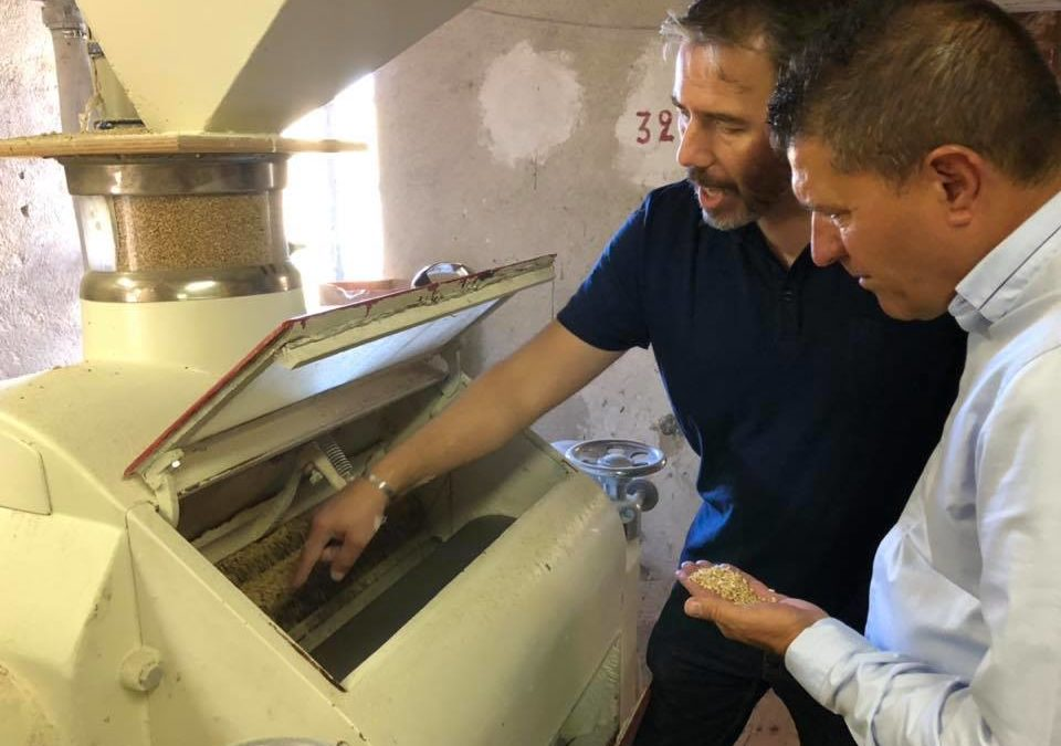 Visite de la Minoterie Rieubon, dernier moulin à farine d'Ardèche