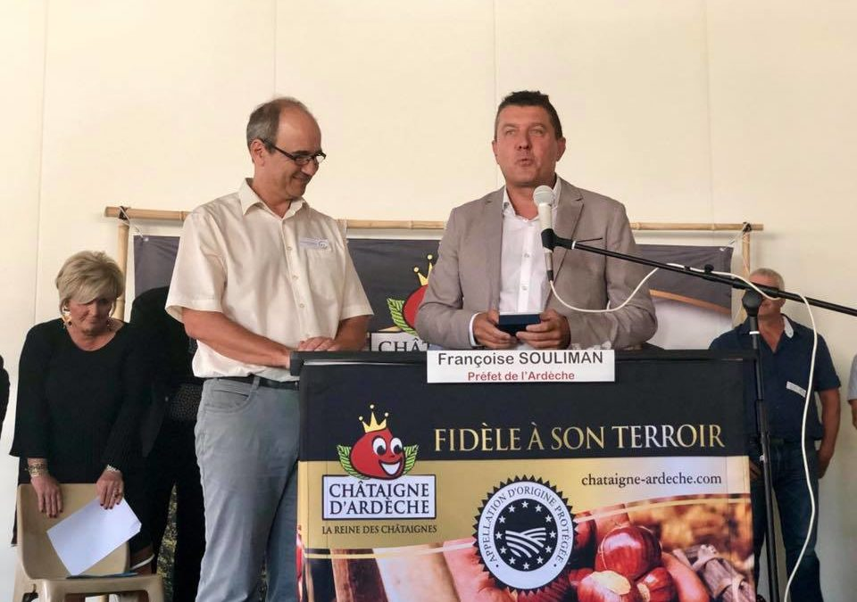 Inauguration de l'établissement secondaire de la Maison Sabaton à Aubenas