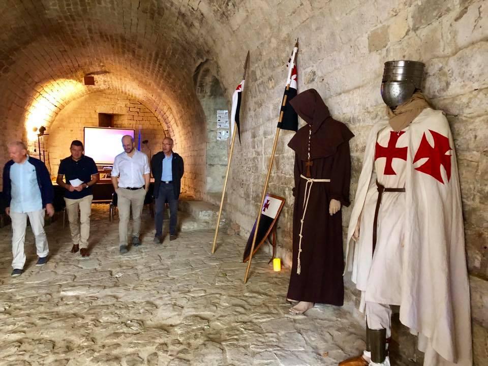 Bond dans le temps à la Commanderie de Jalès, à l'occasion des journées du patrimoine