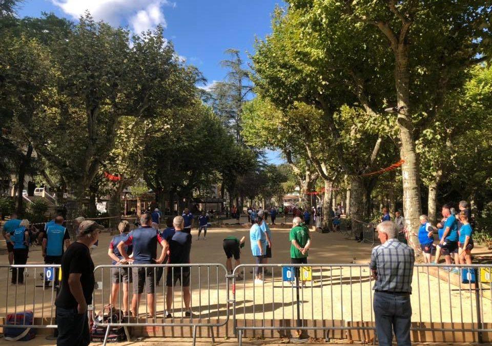 Trophée de France de boules à Vals les Bains