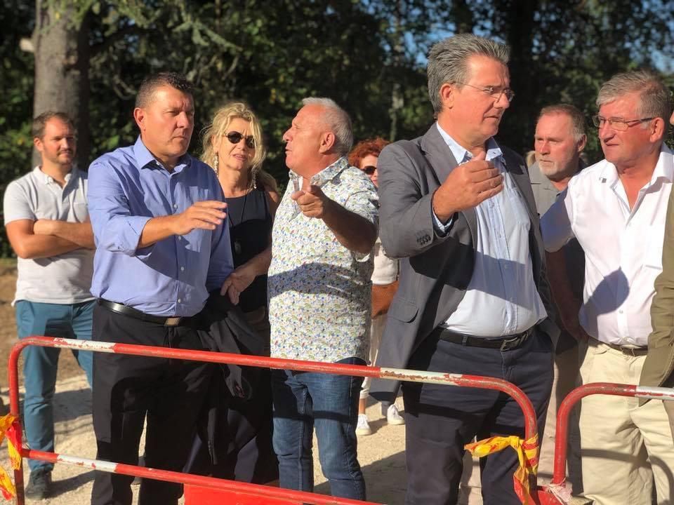 Lancement des travaux des voies douces à St Privat