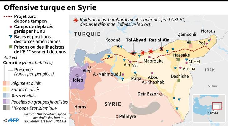 L'appel des députés français à soutenir les Kurdes de Syrie.