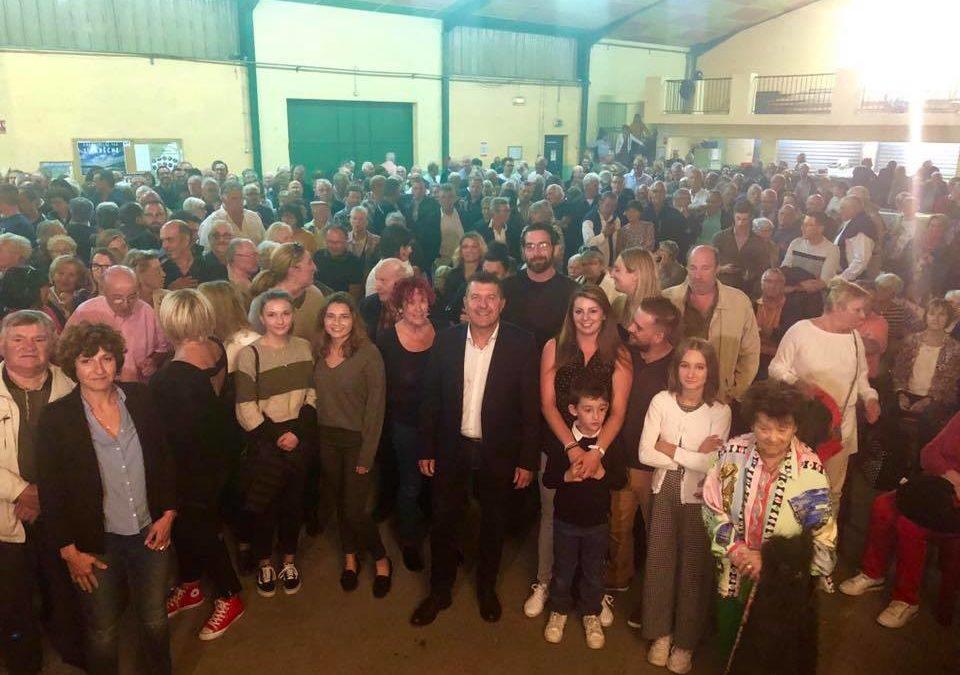 500 personnes à ma rôtie de châtaignes à Lablachère.