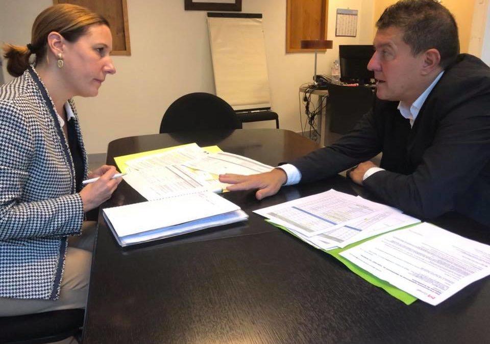 Réunion de travail avec la nouvelle Secrétaire générale de la préfecture de l'Ardèche