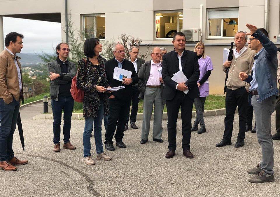 Réunion de travail à l'EHPAD Sainte Monique d'Aubenas