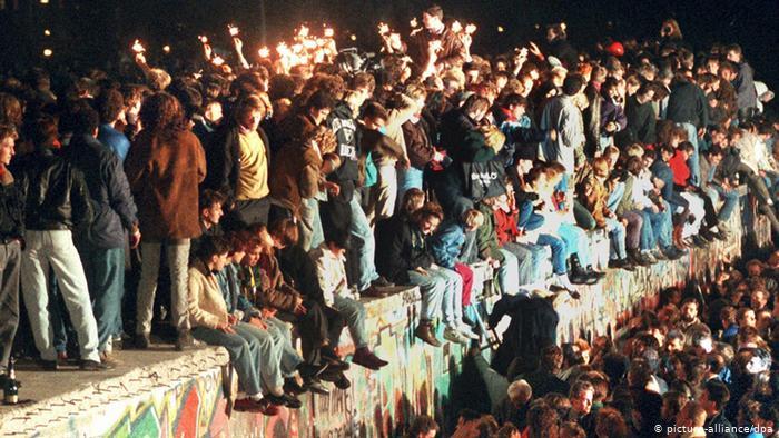 30 ans de la chute du mur de Berlin.