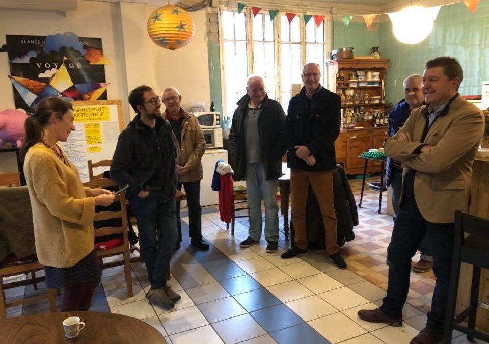 Visite des locaux de l'association Vesseaux-Mère