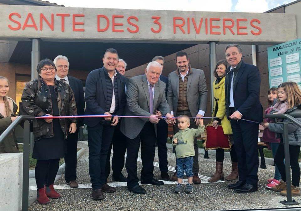 Double inauguration à Ruoms de la mairie et de la maison de santé