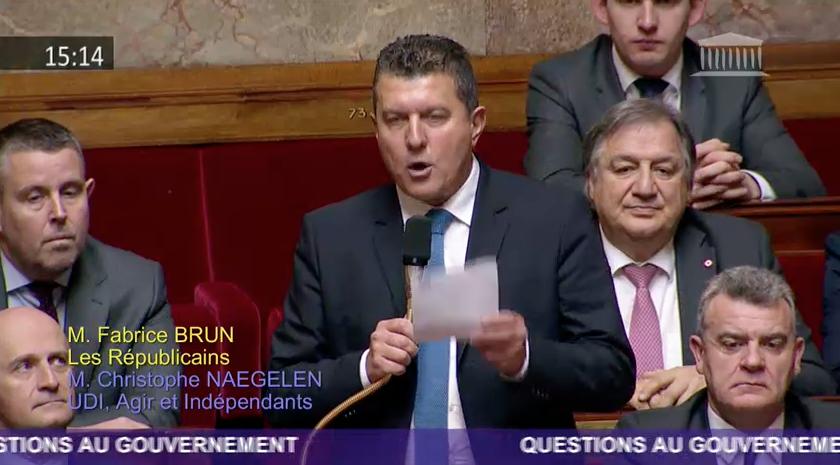 Réforme des retraites – Ma question au gouvernement à l'Assemblée nationale