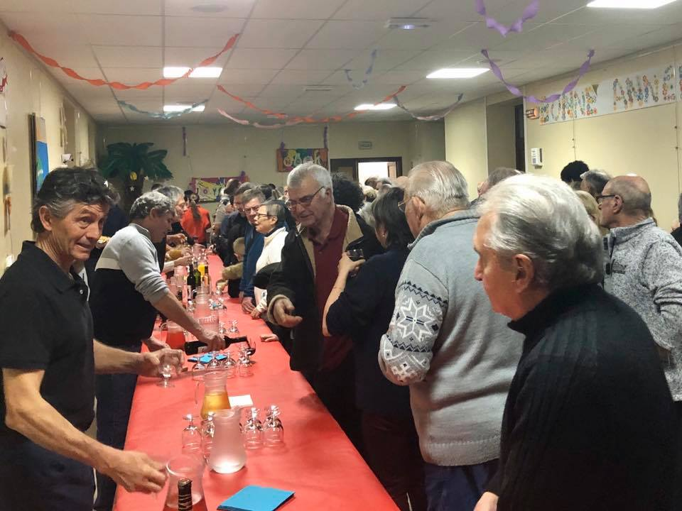 Cérémonie des voeux à Berrias et Casteljau